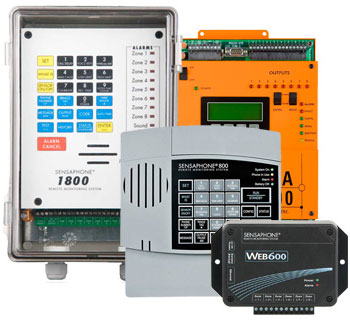 Model 1800, Model 800, Web600 and SCADA 3000
